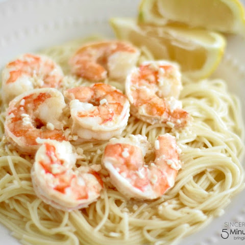 Easy 5 Ingredient Shrimp Scampi