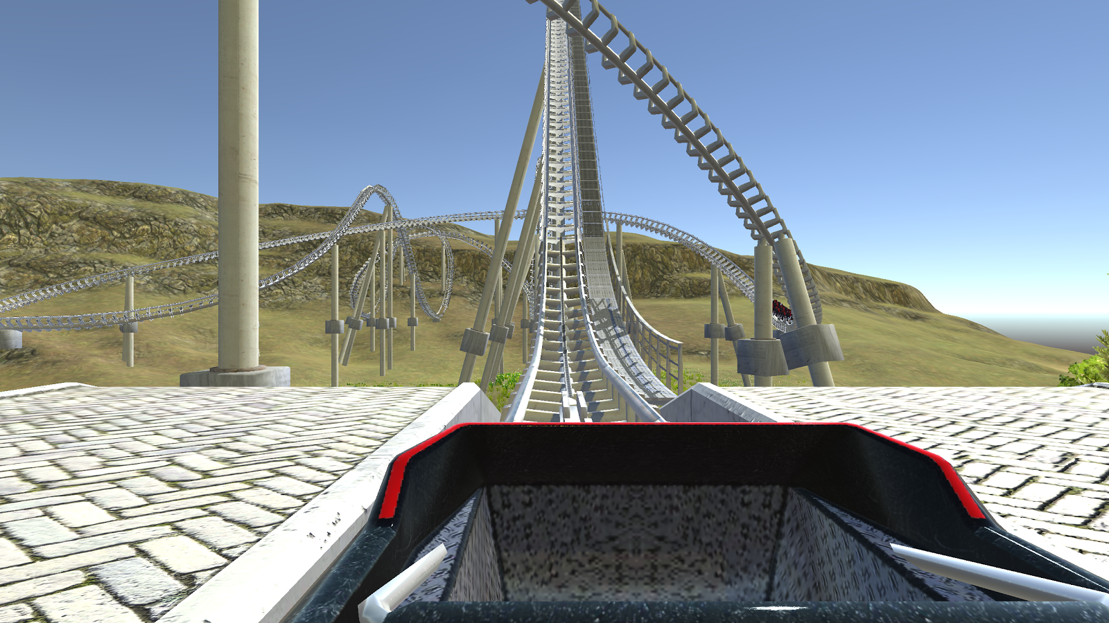 Cardboard VR 3D Roller Coaster Screenshot 3
