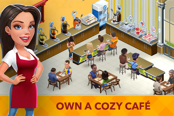 My Cafe: Recipes & Stories Screenshot 0