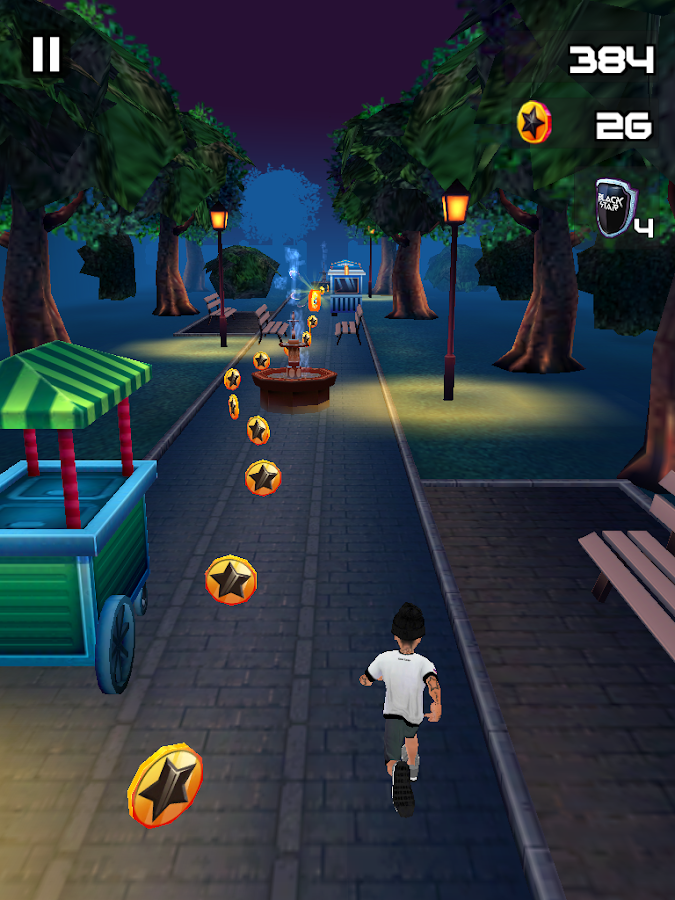 Black Star Runner Screenshot 6