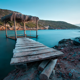 Bridge to paradise by Grigoris Koulouriotis - Landscapes Beaches ( greece, samos, summer, sea, beach )