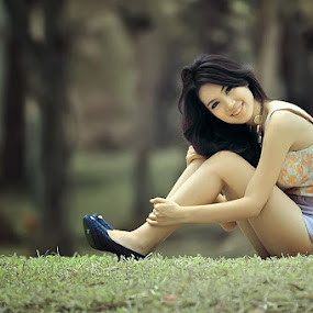 silvia smile by Andhika Betet - People Portraits of Women