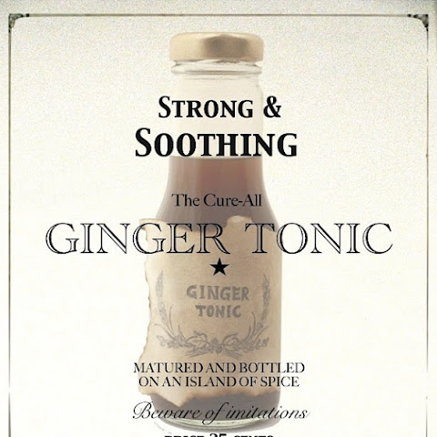 Strong & Soothing Ginger Tonic