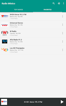 Radio México APK screenshot thumbnail 12