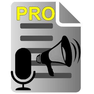 Voice to Text Text to Voice PRO For PC / Windows 7/8/10 / Mac – Free Download