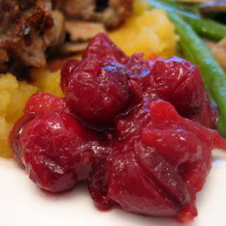 Erik's Homemade Cranberry Sauce