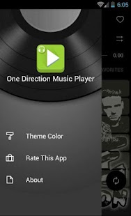 One Direction Music Player - screenshot