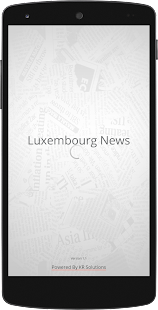 Luxembourg Newspapers-Official - screenshot