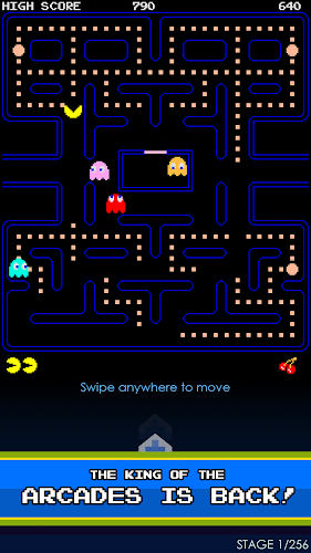 PAC-MAN Android App Screenshot