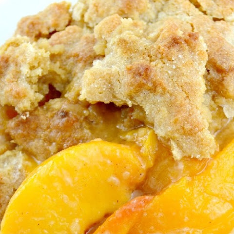 Simply The Best Southern Peach Cobbler Ever!