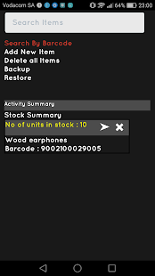 Very Simple inventory app Pro screenshot for Android