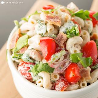 Blt Pasta Salad Elbow Macaroni Recipes