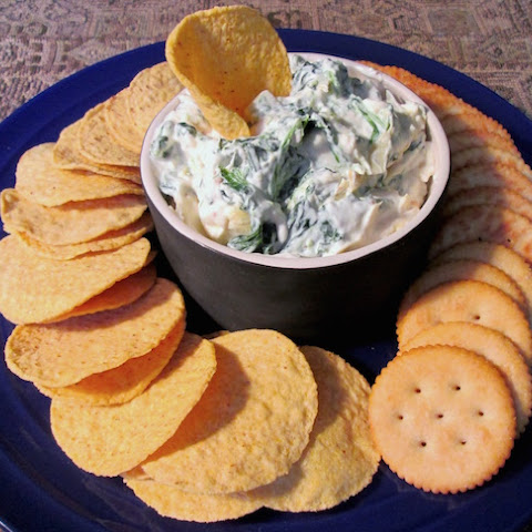 Olive Garden Hot Artichoke-Spinach Dip Reduced Fat/Calorie