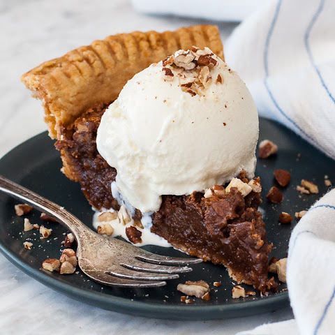 Pecan Chocolate Chess Pie