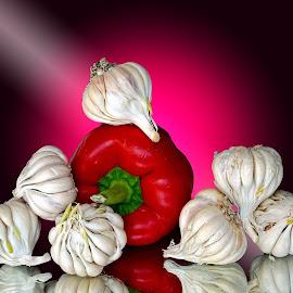 Garlics by Asif Bora - Food & Drink Ingredients (  )