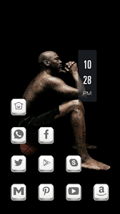 Dark Meditation Man Theme - screenshot