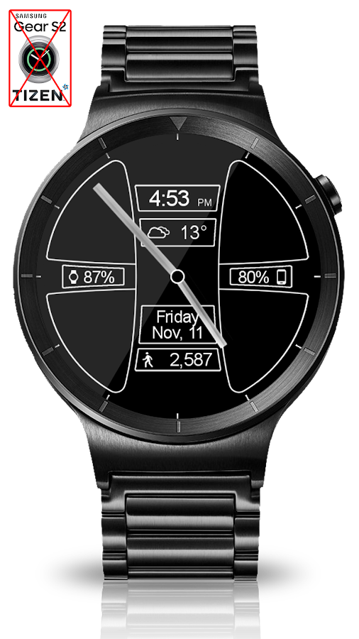 Avionic Depth HD Watch Face Screenshot 10