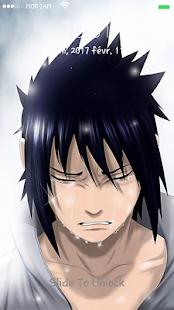 App Sasuke uchiha lock screen APK for Windows Phone