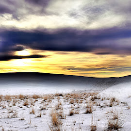 White Sands Sunrise HDR by Shawn Thomas - Digital Art Places