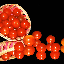 TOMATOES by SANGEETA MENA  - Food & Drink Fruits & Vegetables