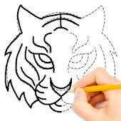 Learn to Draw Animal Icon