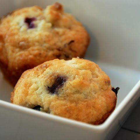 The Simplest Blueberry Muffins.