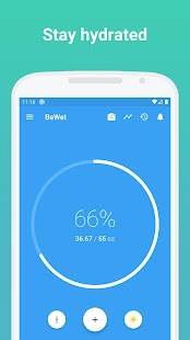 Drink Water Reminder and Hydration Tracker - BeWet for pc