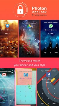 Photon AppLock APK screenshot thumbnail 1