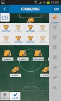 Screenshot of Mister Calcio Cup