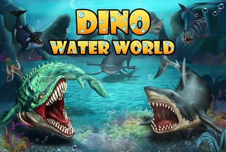 APK Game Jurassic Dino Water World for BB, BlackBerry