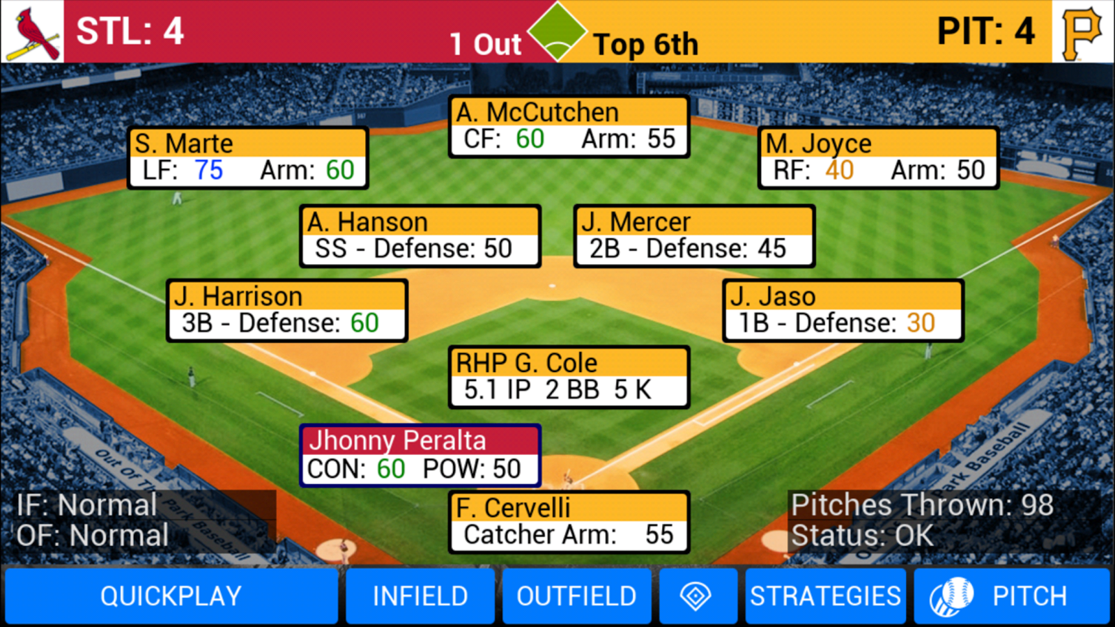 MLB Manager 2016 Screenshot 10