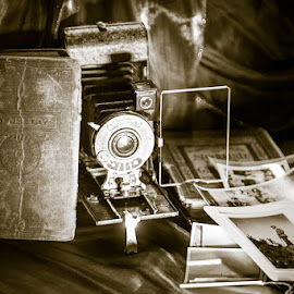 Old Camera by Dave Johnston - Novices Only Objects & Still Life