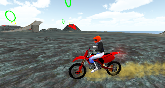 Motocross Volcano Jumping - screenshot