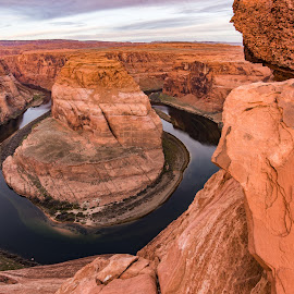 Horseshoe Bend of the Colorado River by Steven Aicinena - Landscapes Travel