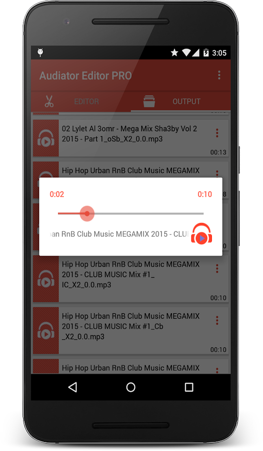 MP3 Cutter Ringtone Maker PRO Screenshot 10