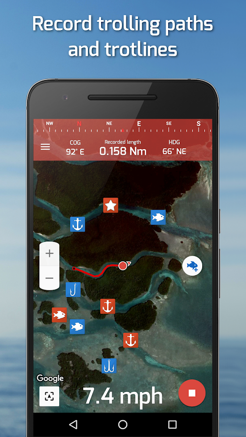 Fishing Points: GPS, Tides & Fishing Forecast Screenshot 6