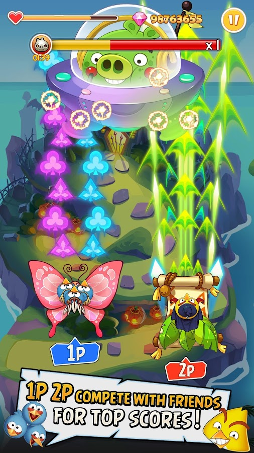 Angry Birds: Ace Fighter Screenshot 1