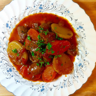 Spicy Italian Sausage Stew