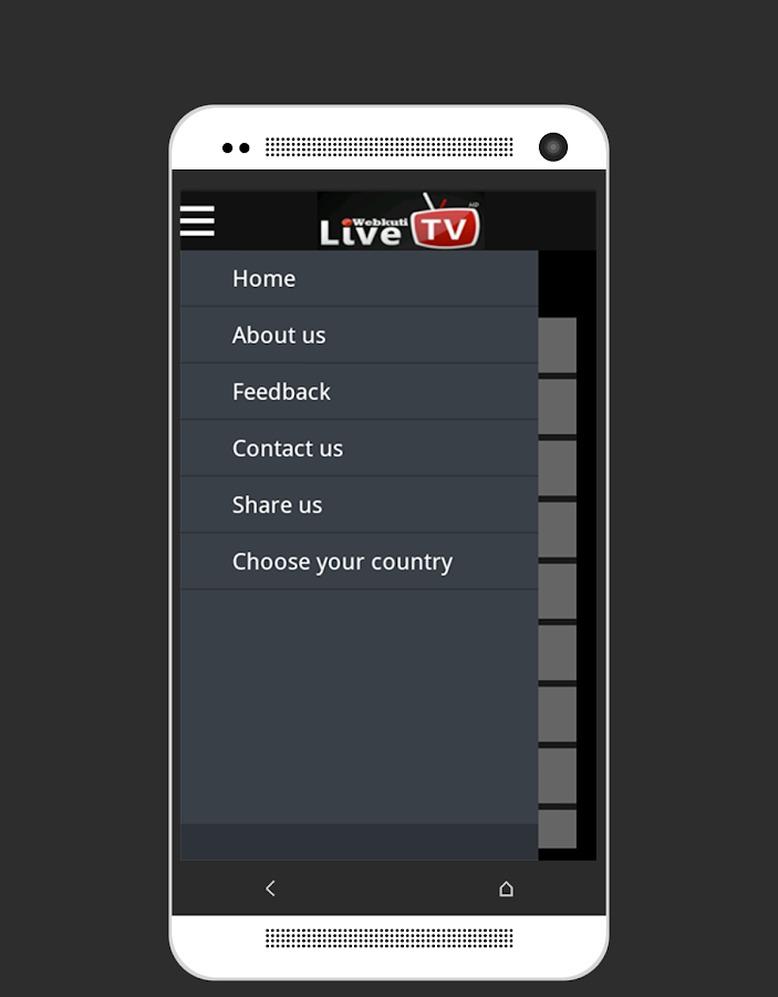 Live TV: Mobile TV, Movie & TV Screenshot 7