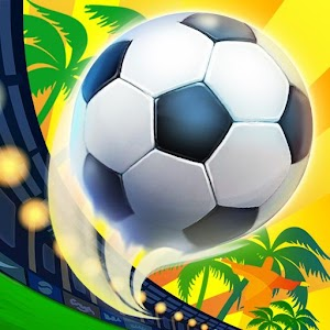 Play kicker & keeper with a flick in this award-winning soccer penalty kick game APK Icon