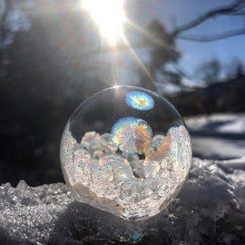 snow angel by Melissa Poling - Instagram & Mobile iPhone ( no filter, winter, noon, magical, ice, beauty, create )