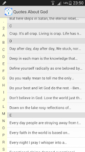 Quotes About God - screenshot