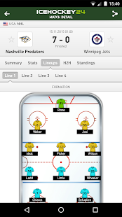 IceHockey 24 - hockey scores - screenshot