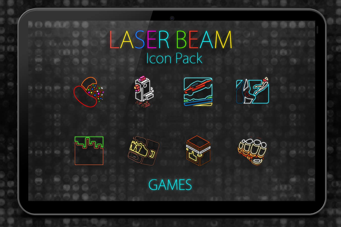 Laser Beam Icon Pack Screenshot 9