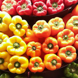 Rainbow by Karen Boston  - Food & Drink Fruits & Vegetables