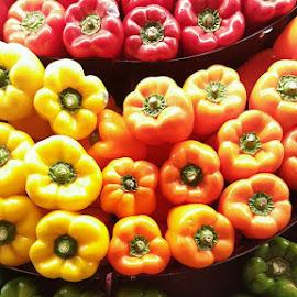 Rainbow by Karen Boston  - Food & Drink Fruits & Vegetables