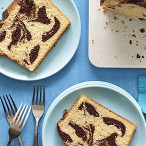 Vanilla-Chocolate Pound Cake