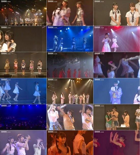"""(LIVE)(公演) HKT48 チームH """"青春ガールズ"""" 田中美久の生誕祭 140913"""
