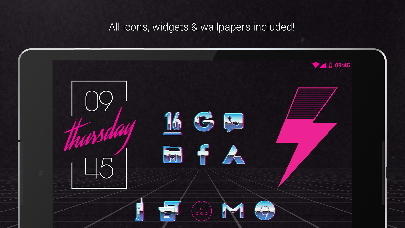 Rad Pack Pro - 80's Theme Screenshot 8