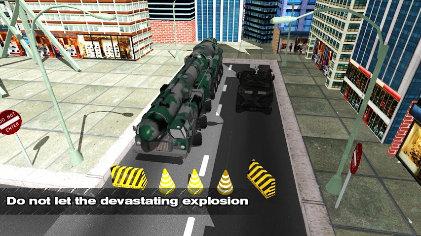 android Bomb Transport Russian Truck Screenshot 2